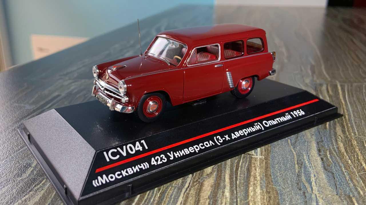 «Москвич-423»: шутинг-брейк по-советски