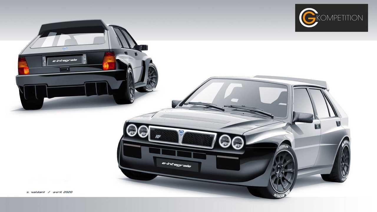 Lancia Delta Integrale Will Start E-Retrofit Premium Series And Become An EV