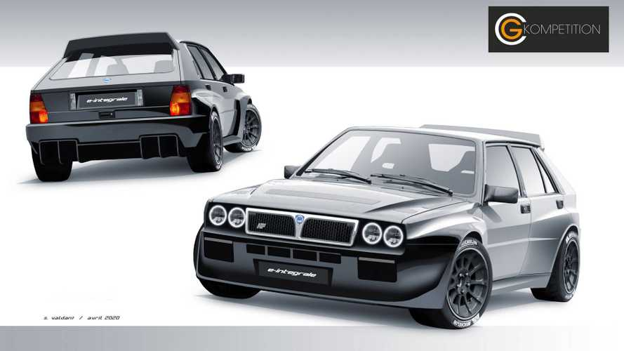 Lancia Delta Integrale EV conversion coming soon
