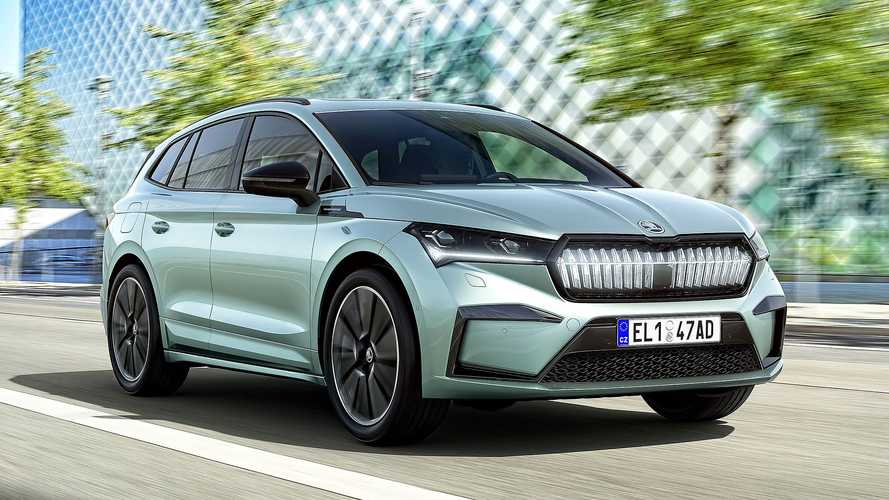 Skoda Enyaq Electric SUV Available To Order In UK With Prices From £31k