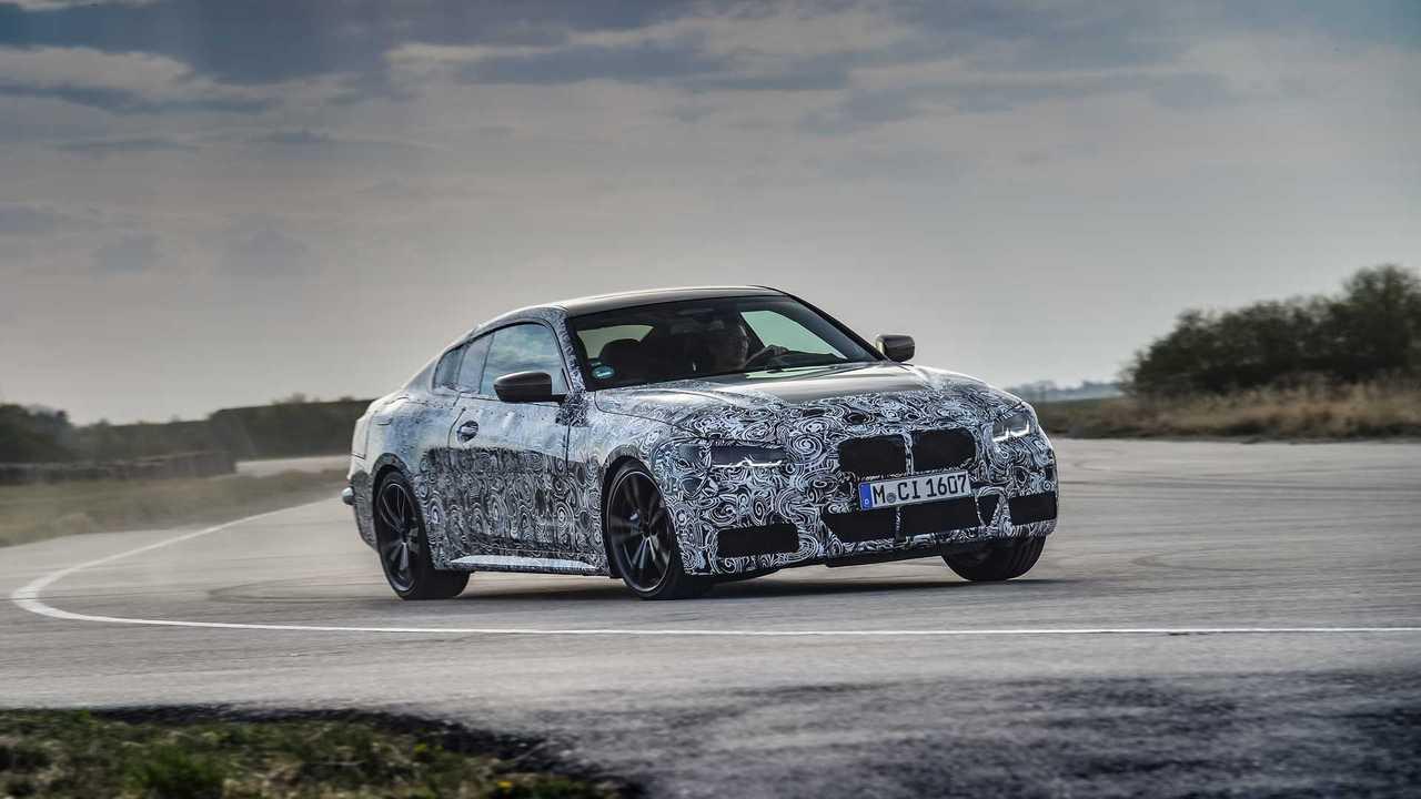 Predrive Test BMW 4er Coupé 2020 Prototyp