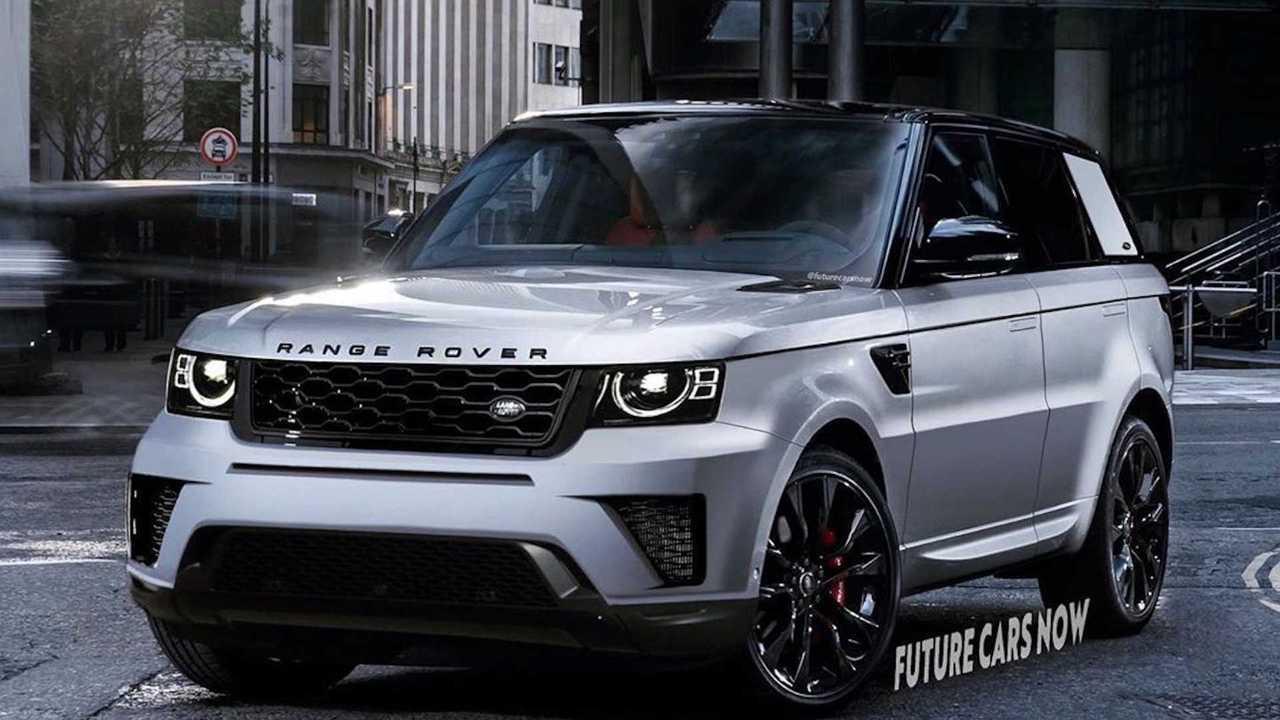 Range Rover Sport Rendering