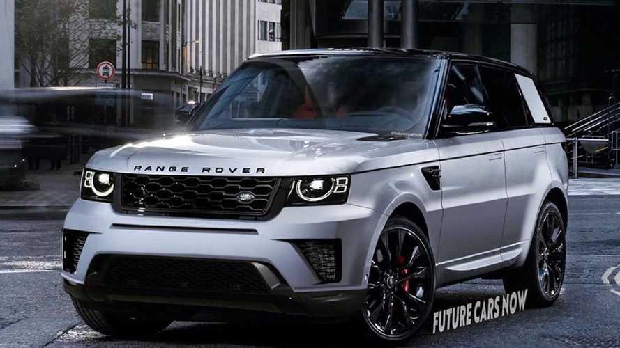 2022 Range Rover Sport Rendering Adopts Defender's Design Cues