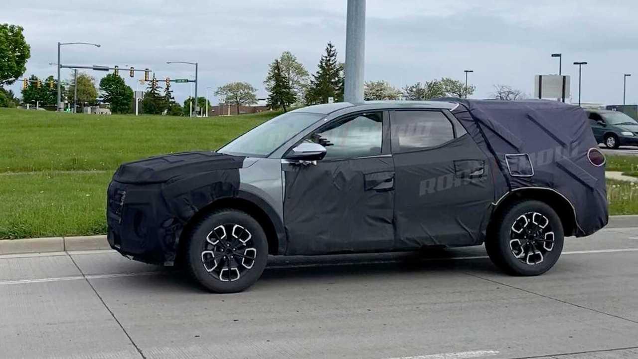 Hyundai Santa Cruz  - Flagra nos EUA