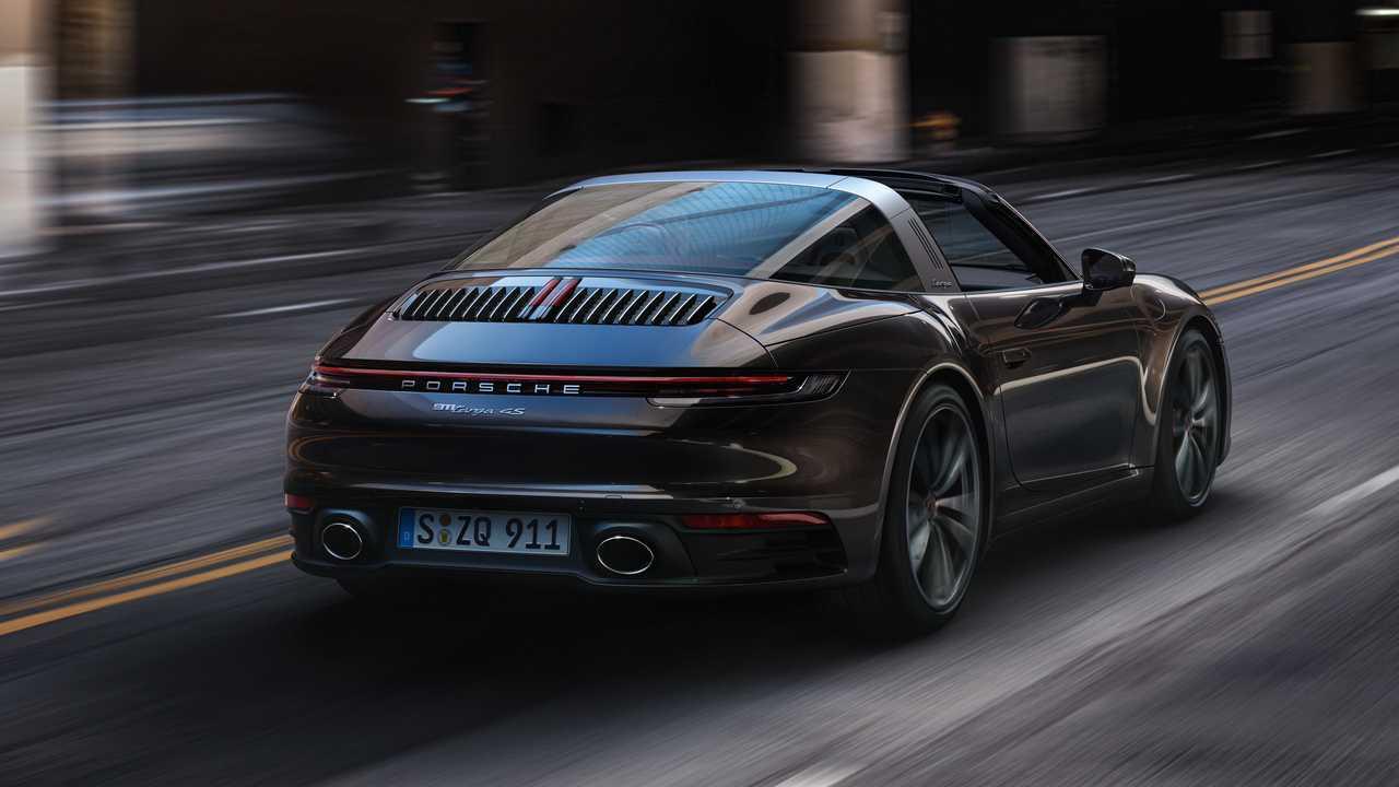 Porsche 911 Targa (2020)