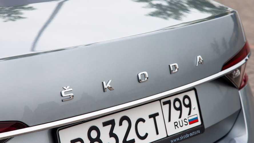 Обновленная Skoda Superb Style (все фото)