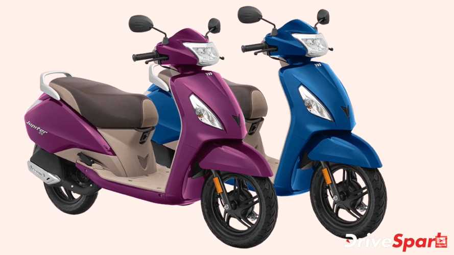 TVS Jupiter ZX Disc Scooter Launched With Silent Start In India