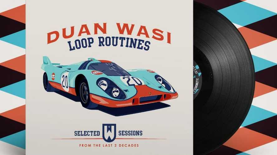 German musician releases vinyl using classic Porsche sounds