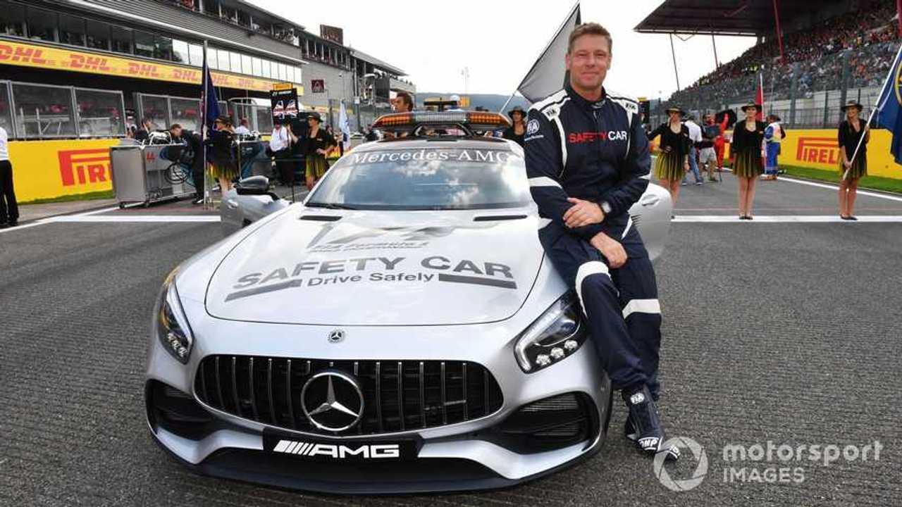 Bernd Maylander FIA Safety Car Driver at Belgian GP 2017