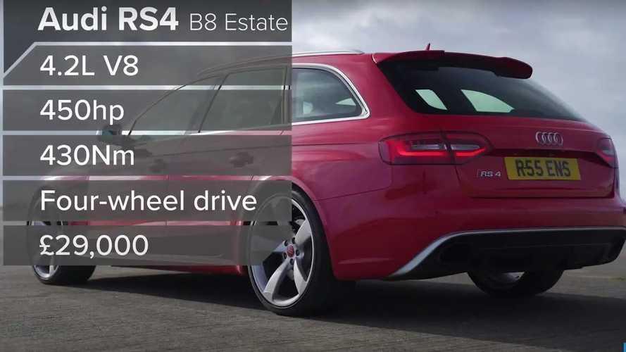 Carrera de aceleración: BMW M3 vs. Mercedes-AMG C63 vs. Audi RS 4 Avant