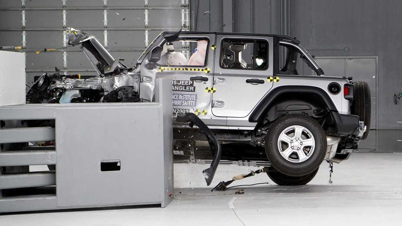 2020 Jeep Wrangler Crash Test