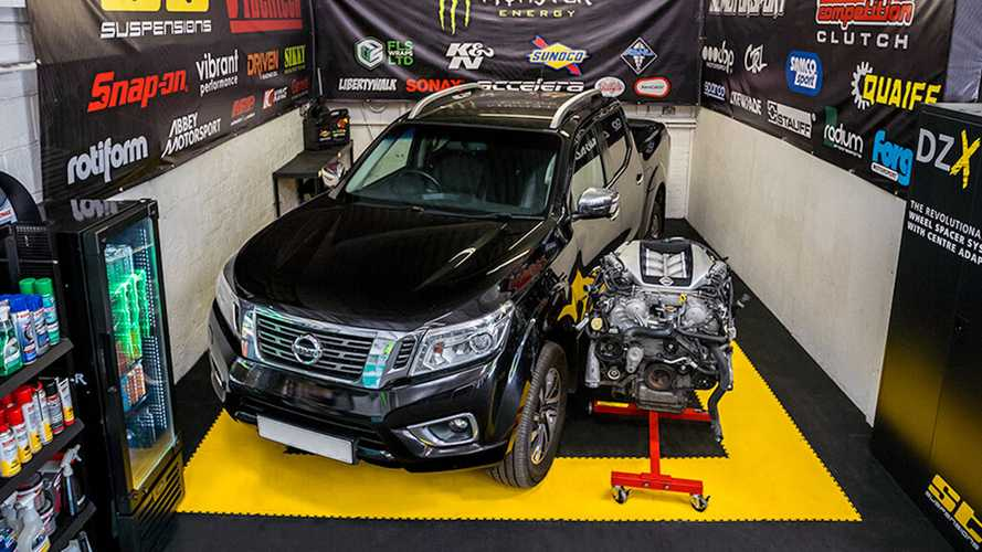 Nissan Navara pickup getting GT-R engine with 1,000 bhp in the UK