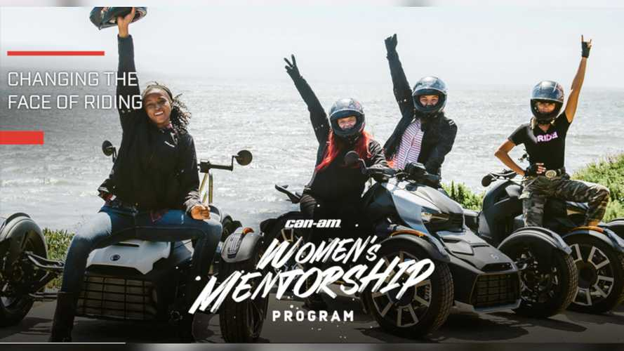 Can-Am Encouraging New Riders With Women's Mentorship Program