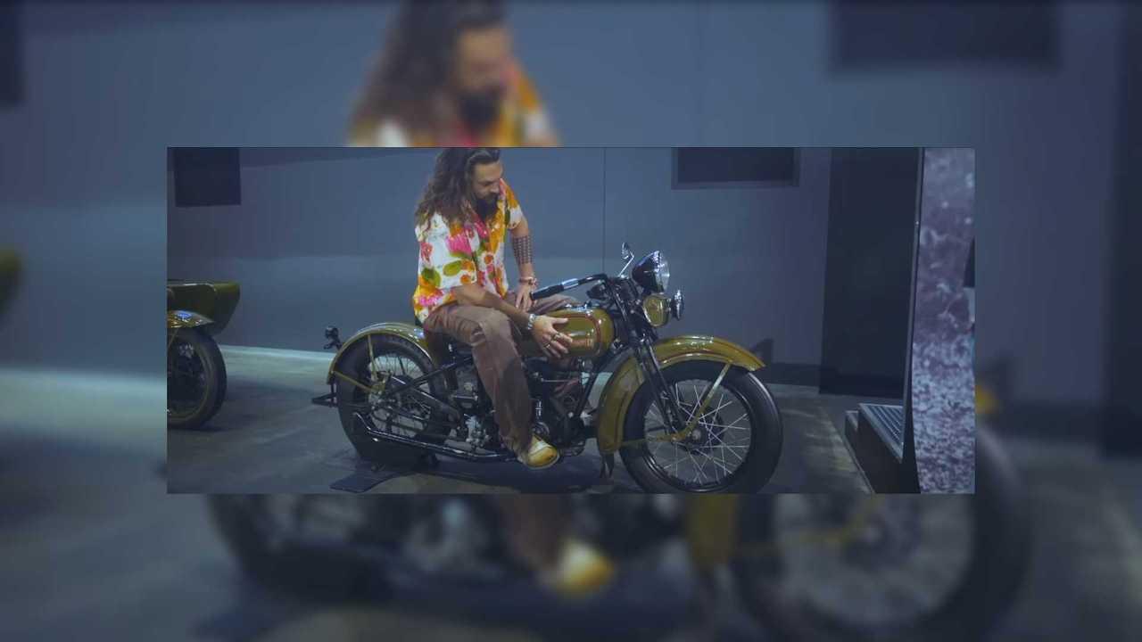 Jason Momoa Harley-Davidson
