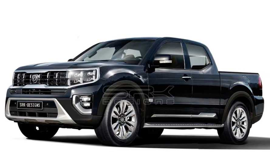 Watch Kia Mohave SUV Turn Into A Tough-Looking Kia Pickup Truck