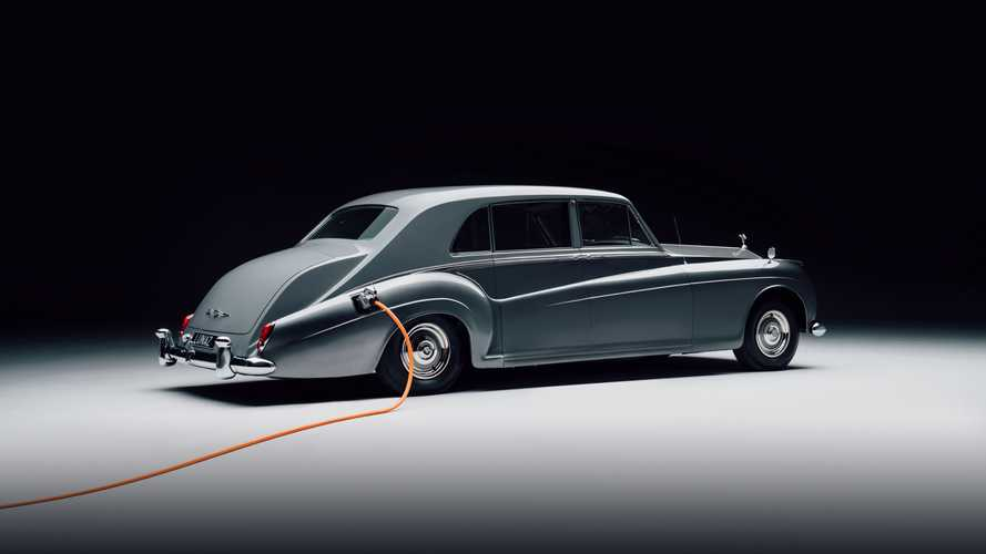 Este es el primer Rolls-Royce clásico eléctrico del mundo
