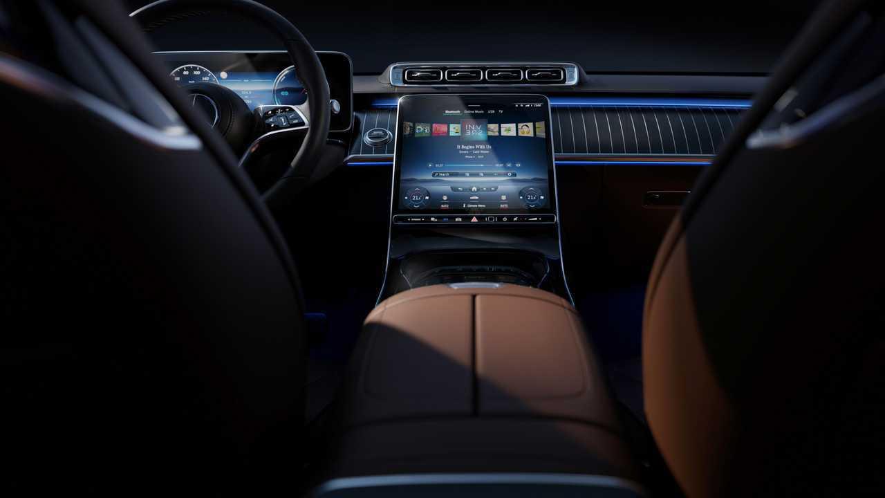 L'intérieur de la Mercedes-Benz Classe S
