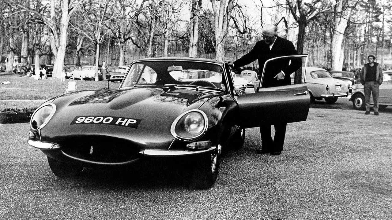 Jaguar E-Type, le foto del 1961
