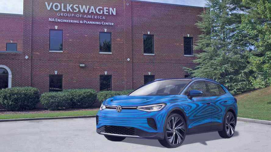 Volkswagen будет выпускать по 500 000 электрокроссоверов в год