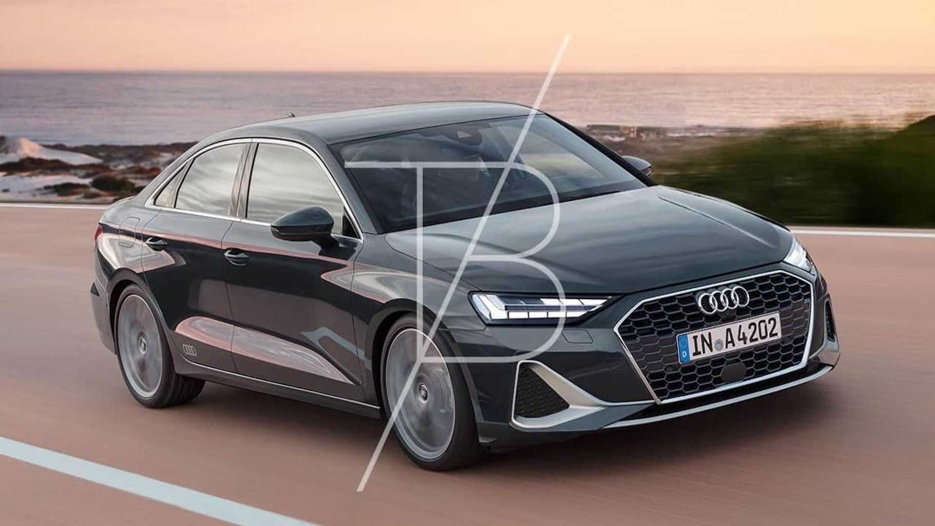 4 Audi A4 Renderings Preview An Evolutionary Design Update