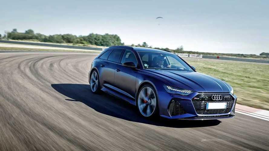 L'Audi RS 6 sur circuit