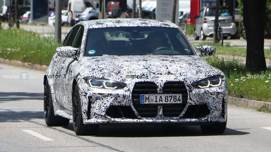 Photos espion BMW M3 - Juillet 2020