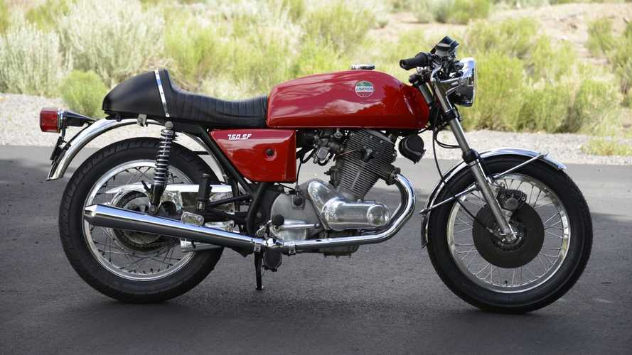 This Cherry Red 1974 Laverda 750 Is Like A Cold Drink On A Hot Day