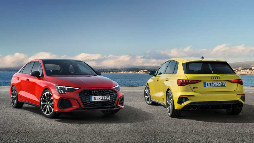 2021 Audi S3 revealed in Sportback and Saloon flavours with 306 bhp