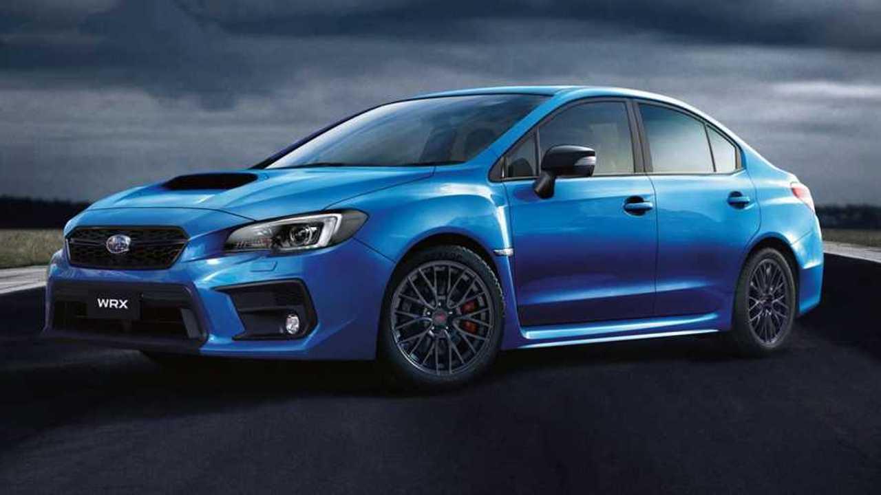 2020 Subaru WRX Club Spec (Avustralya)