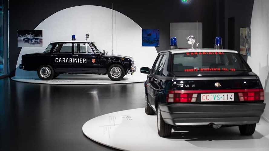Alfa Romeo in Uniform: Polizei-Sonderausstellung in Arese
