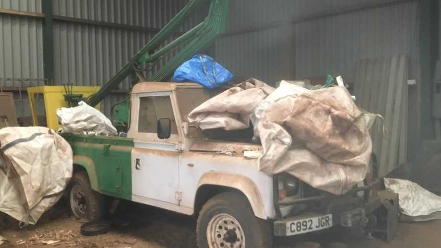 Lost Land Rovers among rare vehicles discovered on Scottish estate