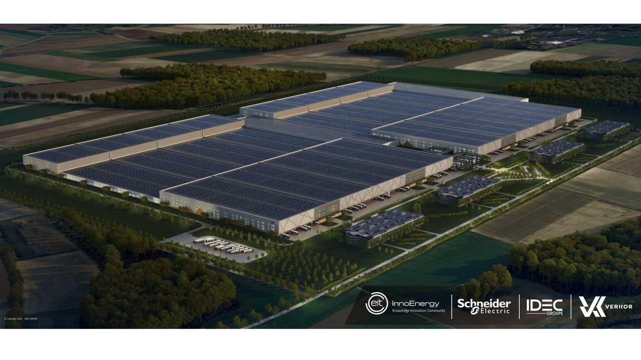 Verkor, Europe's new battery cell producer, begins its industrial journey, backed by EIT InnoEnergy, Schneider Electric and the GROUPE IDEC