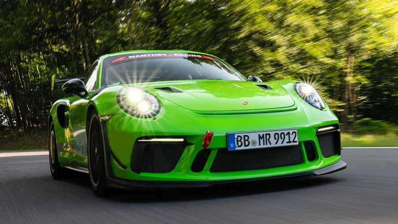 Manthey-Racing Porsche 911 GT3 RS MR