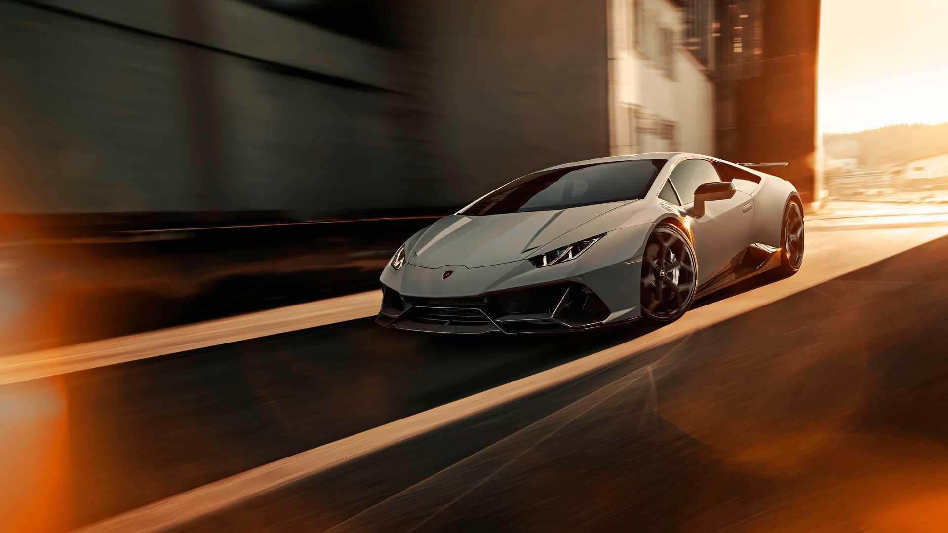 Lamborghini Huracan Evo by Novitec