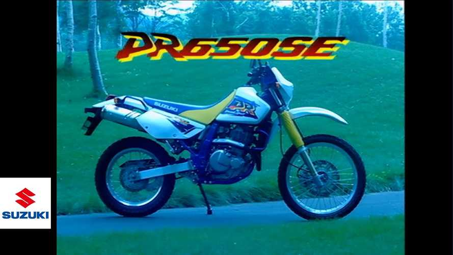 Suzuki Shares Vintage Marketing Video For OG 1996 DR650SE