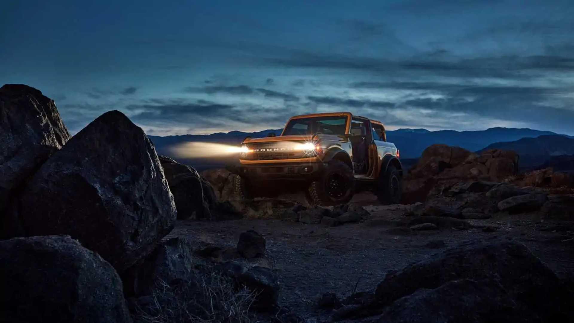 El nuevo Ford Bronco 2021, al descubierto, en sus tres ...