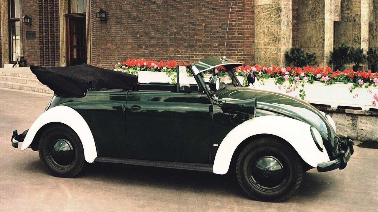 Käfer Cabriolet Polizei (1954)