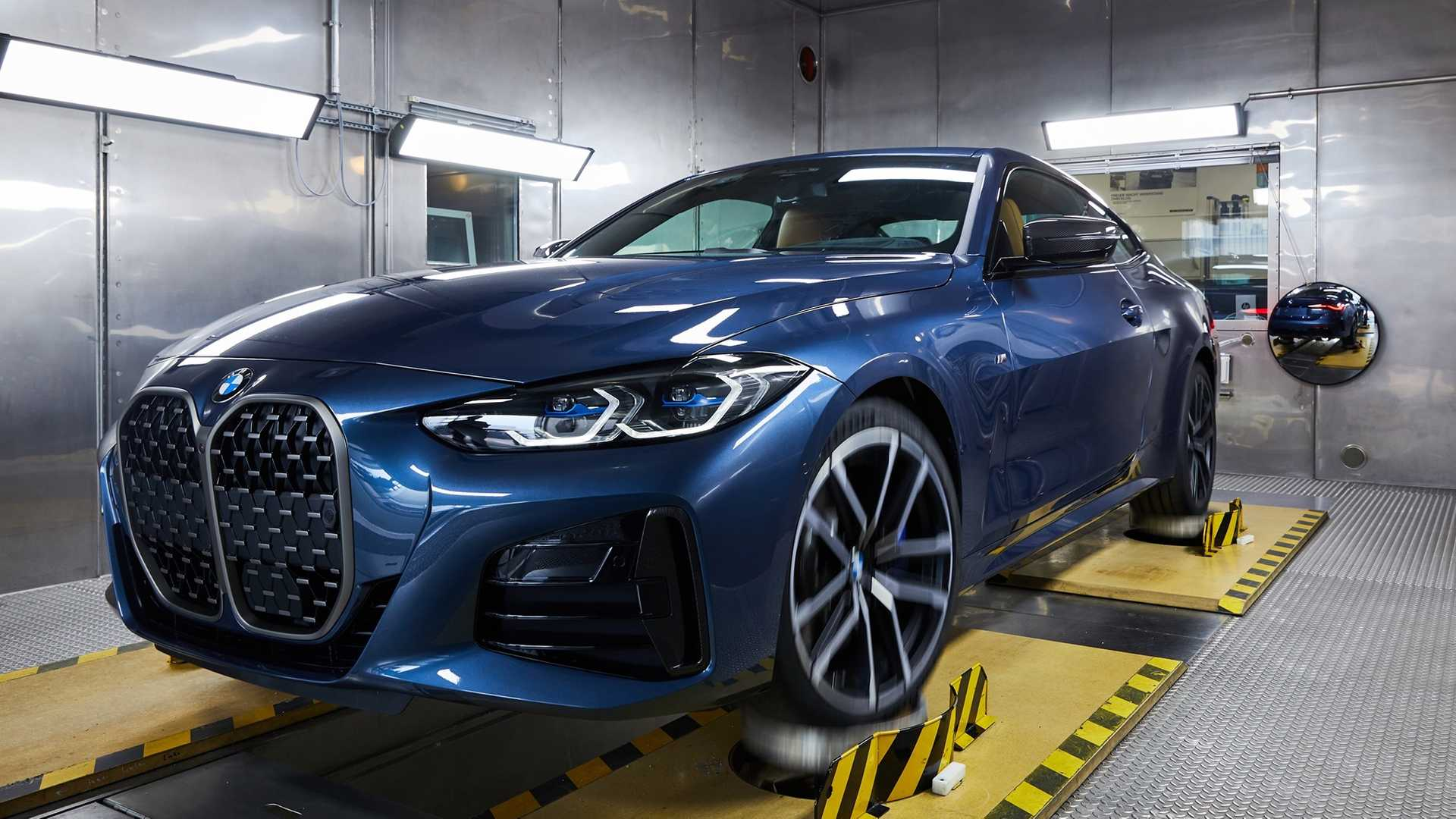 New Bmw 4 Series Enters Production Brings Xxl Grille To Assembly Line