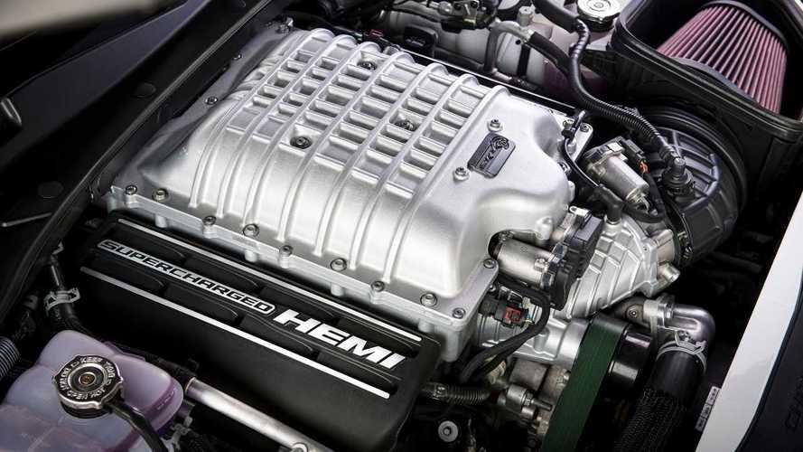Vous pouvez acheter le V8 de la Dodge Charger SRT Hellcat Redeye à l'unité