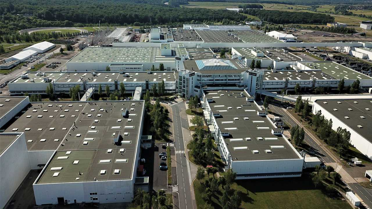 Mercedes-Benz AG car assembly plant in Hambach, France