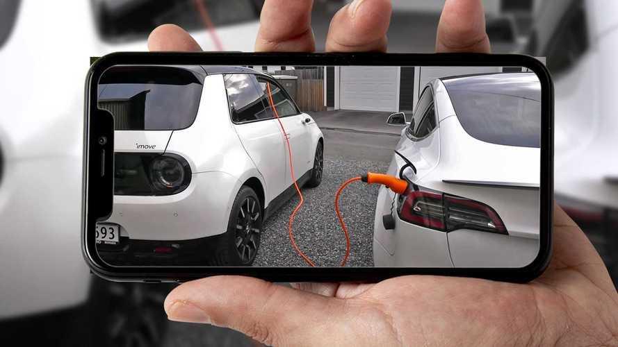 Será que um carro elétrico pode recarregar o outro? Confira a experiência