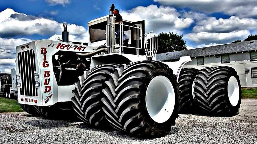 Watch World's Largest Farm Tractor Get First Set Of New Tires In 43 Years