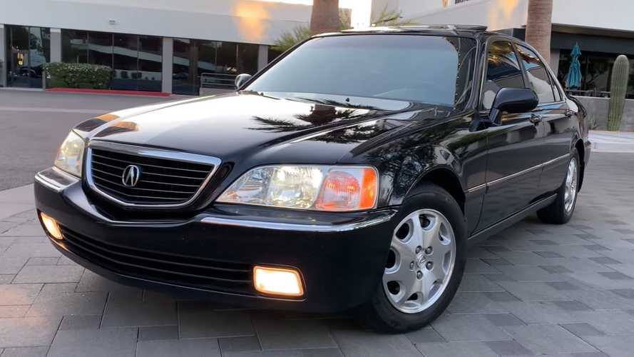 Acura Collector Shows Mint RL With 212,000 Miles