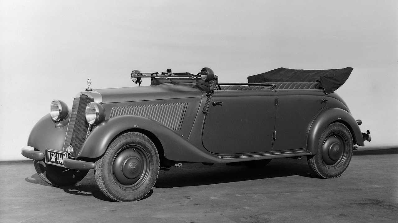 Historische Polizeifahrzeuge in Deutschland: Mercedes 170 OTP