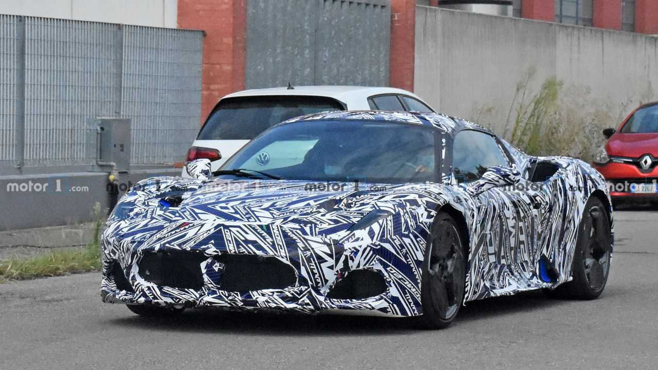2021 Maserati MC20 kém fotó