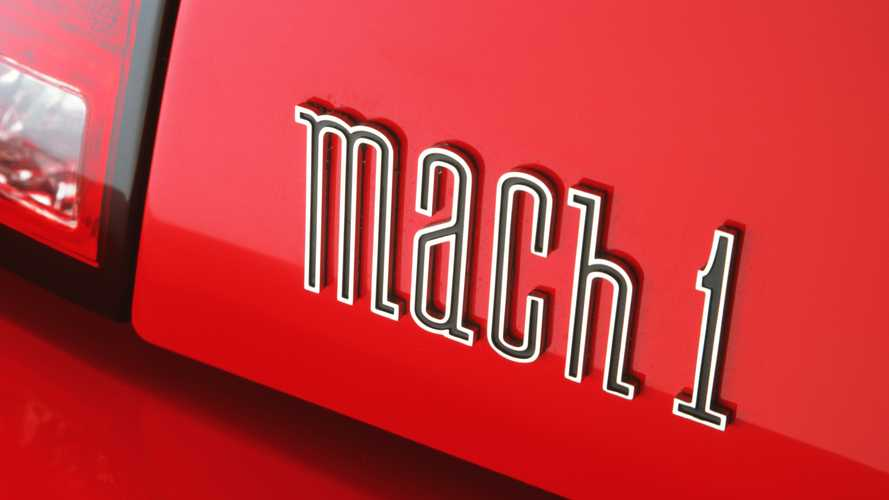 Ford Mustang Mach 1 2021, nuevo logotipo