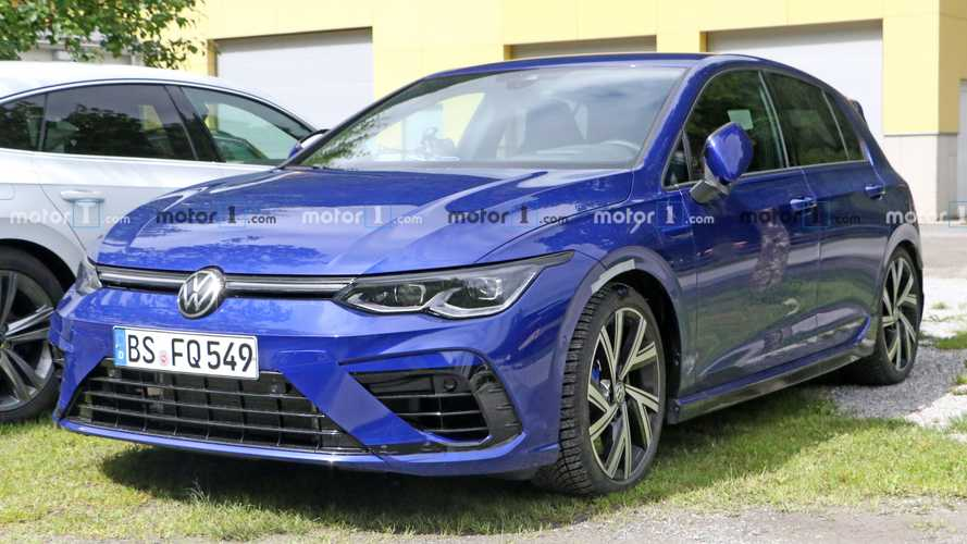 Volkswagen Golf R Spied Looking Nearly Ready For A Debut