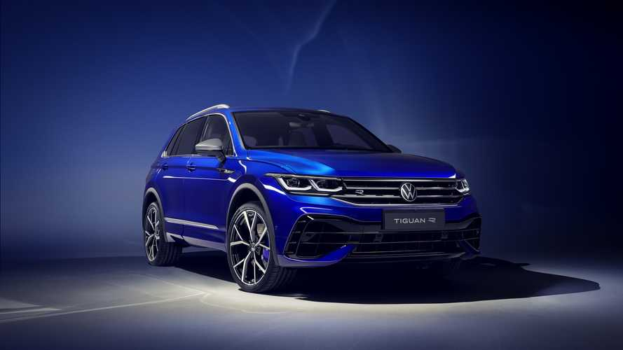 2021 VW Tiguan facelift
