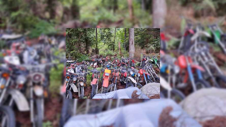 Buy Your Own Motorcycle Boneyard For Less Than $10,000