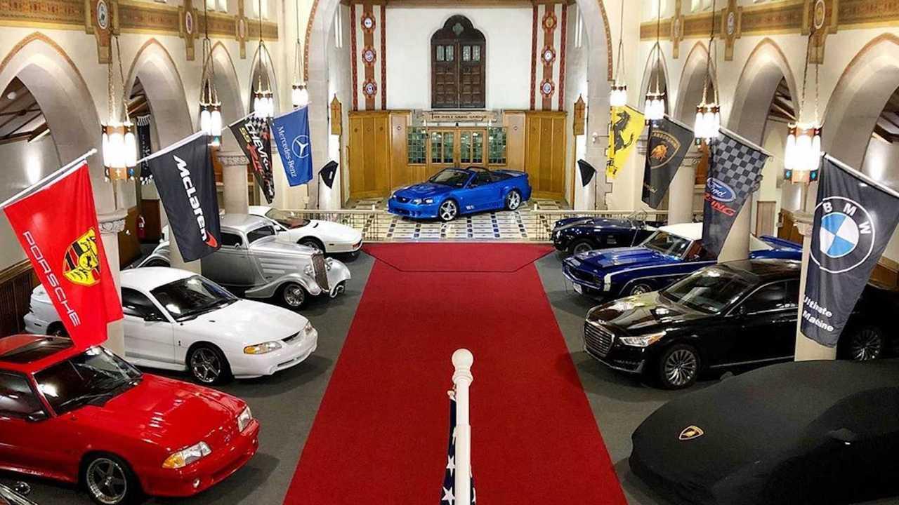 The Holy Grail Garage, el mejor garaje del mundo
